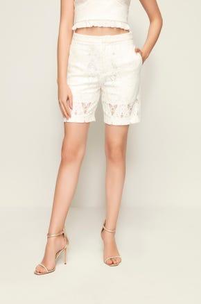 High Waist Lace Shorts