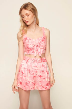 Pink Summer Crop Top 1864412