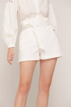 Sash Belt Shorts