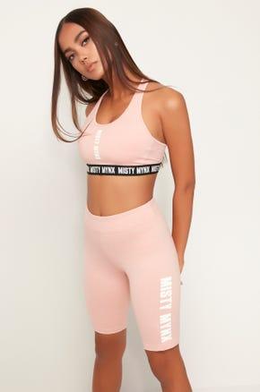 Misty Mynx Sports Bra - Pink