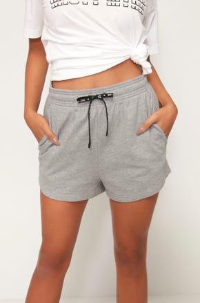 Logo Drawstring Shorts - Grey