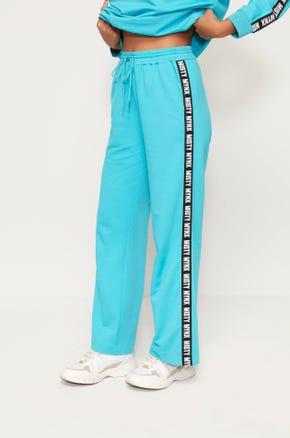 Logo Tape Sweatpants - Blue