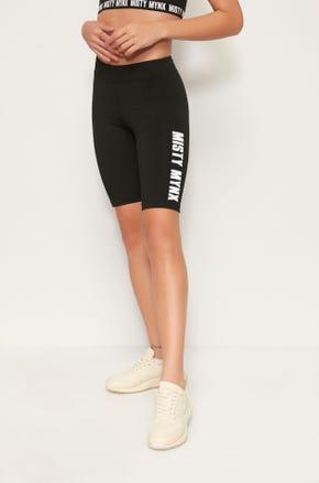 Misty Mynx Biker Shorts - Black