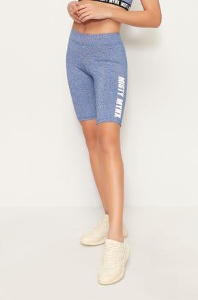 Misty Mynx Biker Shorts - Blue