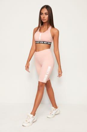 Misty Mynx Biker Shorts - Pink