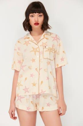 Seashore Pajama Blouse