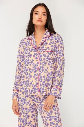 Floral Pajama Blouse