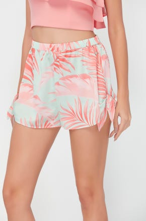 Palm Springs Side Tie Shorts