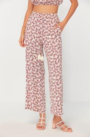 Paisley Drawstring Pants