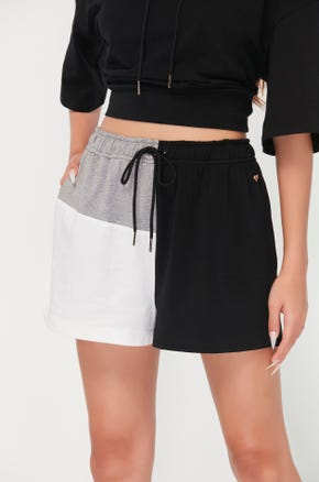 Color Block Active Shorts