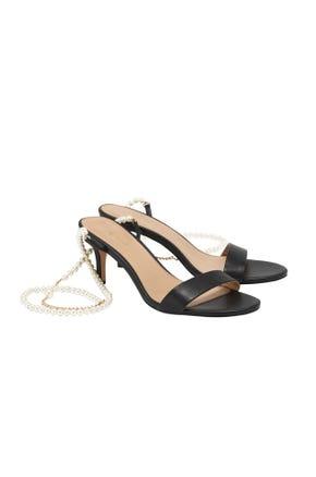 Pearl Strap Stilettos