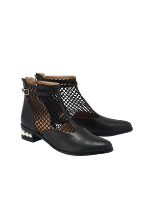 Mesh Ankle Boot